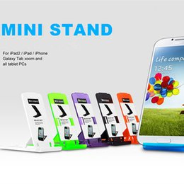 Mini Mobile Stand for Tablet PC iPad iPhone Galaxy Tab Desk Holder Fashion Gift with Package
