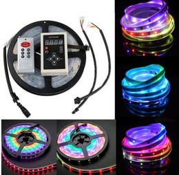 2017 couleur de rêve magique DC 12V 6803 numérique IC 133 Magic Dream couleur 5M LED flexibles RGB Strips lumière 30LED / m IP67 Tube étanche SMD 5050 lampe couleur de rêve magique autorisation