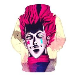 Free Shipping US Size M-5XL High Quality New Fashion Casual Hoodie Cartoon 3D Digital Printing Slim Hooded Sweatshirt Sweater