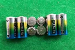 2000pcs lot 0%Hg Pb Mercury free 4LR44 6V Alkaline battery for dog training collar beauty pen door opener FedEx UPS shipping