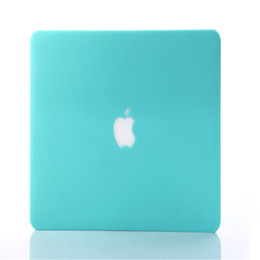 Wholesale Rubberized Frosted Matte Hard Shell Laptop Cases Full Body Protector Case Cover For Apple Macbook Air Pro