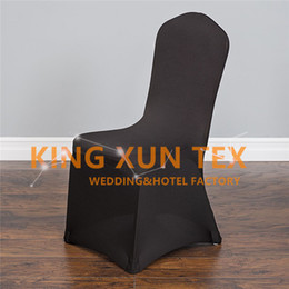 Cheap Wedding Chair Cover \ Lycra Spandex Chair Cover For Banquet Event Decoration Many Colors Choose For you