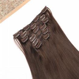 16-26 Inch Top Quality Clip In Hair Extension OEM Wholesale Bralizican Remy Human Hair New Products Instock