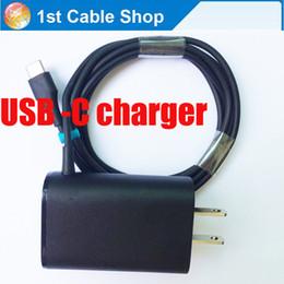Promotion chargeur lumia Wholesale-USB 3.1 Type-C chargeur de voyage chargeur mural 5V 3A avec câble USB-C pour Lumia 950 / 950XL Pour Google Pixel, Pour Nokia N1