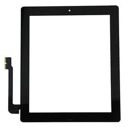 Скидка качество панели Стеклянная панель экрана касания качества 50Pcs Superb с заменой кнопок домашних кнопок цифрователя для iPad 2 3 4 Свободная перевозка груза через DHL