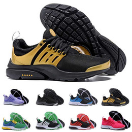Wholesale With Box High Quality Women Men Air Presto Bred Pine Green Brazil Essential Running Shoes Roshe Run Trainers Jogging Sneakers US