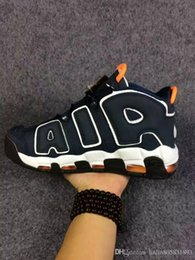 Wholesale Quality goods shoes news air mores quickly and rhythmic pippen Olympic training shoes men sneakers outdoor qualitative
