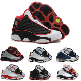 Air Retro 13 XIII il a obtenu des chaussures noires blancs pour hommes chaussures de basket-ball pour hommes chaussures de basket bon marché classique colorway chaussures de sport en plein air enfants à partir de classique pour les jeux d'enfants fabricateur