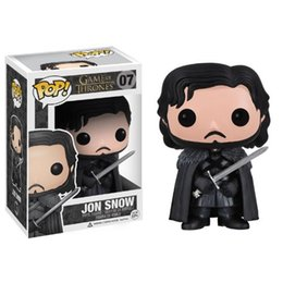 Funko POP Game of Thrones Jon Snow Vinyl Action Figure Model with gift box