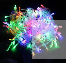 10 meter Led rope light 100led waterproof holiday lighting colorful AC110V or AC220V outdoor christmas decoration light