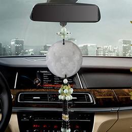 Coche espejo decorativo en venta-Car colgante, jade doble cara valiente fuera de la seguridad del espejo retrovisor decorativo colgante