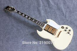 Wholesale G SG High quality electric guitar milk yellow Factory direct sale can be customized