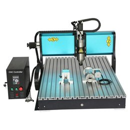Wholesale JFT Industrial Precision Engraving Machine Axis W Best CNC Router with Parallel Port Hot Sale Cutting Machine