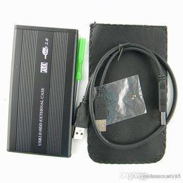 """Una caja portadiscos disco en venta-Disco duro externo S5Q 2.5 """"Sata a la impulsión de disco duro del USB 2.0 Caja rápida del caso del disco duro de CADDY HDD"""