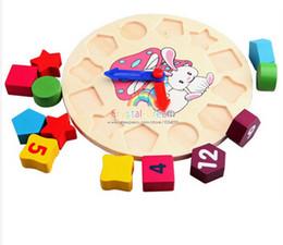 Juguete educativo de los juguetes de los juguetes de los juguetes de los juguetes de los bloques de madera de Digitaces para el regalo del bebé y de la muchacha del fallout montessori modelos a escala desde reloj digital de la geometría fabricantes