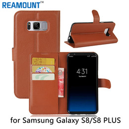 80 pcs New Design Case for Samsung s8 Cover Phone Wallet Flip PU Leather & TPU Case For Samsung s8 Plus Mobile Phone case