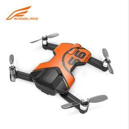 2016 4k caméra drone Genuine Wingsland S6 RC Camera Drone Pocket Drone Selfie avec 4k 13 Million de Pixels Suivez-moi RC Quadcopter 4k caméra drone à vendre