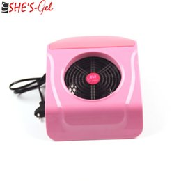 Wholesale 220V V Strong Fan Hand rest Design UV Gel Nail Dryer Suction Nail Dust Collector Vacuum Cleaner Salon Buffer Block Tool