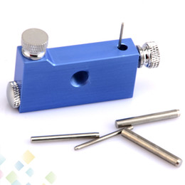 Coil Jig Heating Wire Wick Winding Jig Black Silver Blue Coil Jig Coiler fit RDA RBA Atomizer E cig accessories DHL Free