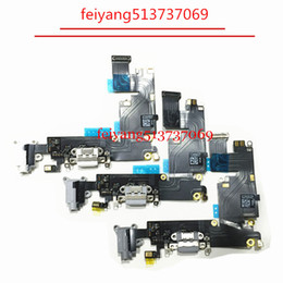 1pcs Original Charger Charging Port Dock Mic Headphone Jack Flex Cable For iPhone 6 Plus 5.5""