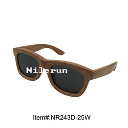 hot selling brand hard wood sunglasses