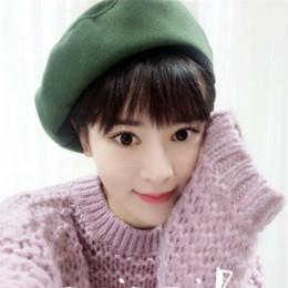 Acheter en ligne Bonnet cru-Vente en gros-DT645 Chapeau GATSBY pour femme Chapeau de bonnet en laine d'hiver Vintage Chapeau d'hiver Beanie Chapeau Casquette chapeu féminino Chapeau d'hiver pour femme Hat