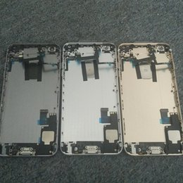 Wholesale Complete Housing Back Battery Door Cover Mid Middle Frame Assembly For iPhone S G Plus