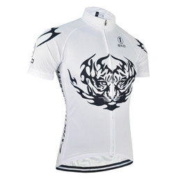 BXIO Brand Bike Clothing Short Sleeve Shirts Tiger Cycling Tops Breathable Cycle Clothes Cool Summer Bike Sport Quality Jerseys BX-075-J