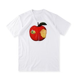 EU Size 2017 High Quality Palace Skateboard New York Apple T-Shirts 1:1 Men Women 100% Cotton Casual Tee O-neck Palace Apple T-shirt