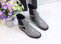 Wholesale The Latest Fashion Show Womens Brands Super Quality Balaga Short Boots Ladies Manual Custom Rivets Shoes