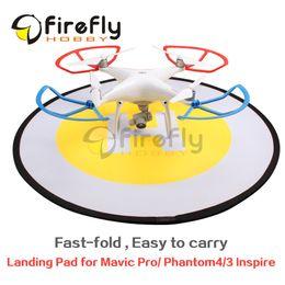 2016 dji inspirer drone Vente en gros - FPV Drone Landing pad Parking tablier Héliport Fast-fold Gimbal pièces de protection pour DJI Phantom 4/3 Mavic Pro Inspire dji inspirer drone offres