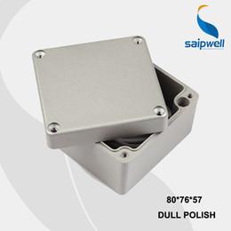 Wholesale mm Size Industrial Waterproof Aluminium Box Electrical Aluminium Enclosure With CE ROHS