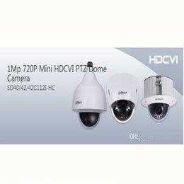 Ptz 12x en Línea-SD42C112I-HC Dahua Vigilancia en Casa Mini 720P CVI Ptz Cámara 12X zoom Dome Cámara Soporte de techo para tienda de conveniencia