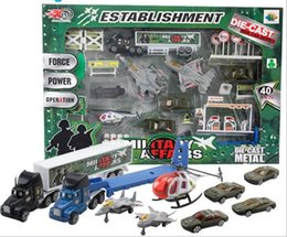 educational toys for children military truck army set model car