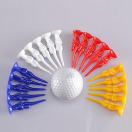 Wholesale Hot Sale Creative Golf T shirts en plastique Sexy Nude Lady Golf Tee Titulaire Débutant Training Practice Tools Les meilleurs cadeaux pour les amis MD0188
