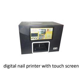 Impresoras de inyección de tinta gratis en Línea-Nueva impresora digital de inyección de tinta de uñas digitales con Touch Sreen color negro para imprimir imágenes en los dedos / rosas con envío gratuito de DHL