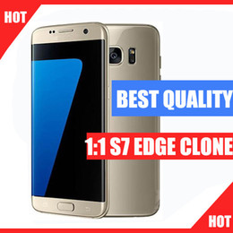 Wholesale Best Quality Goophone s7 edge clone G LTE Octa core inch IPS Curved Screen G RAM G ROM add GB MP s7 edge goophone
