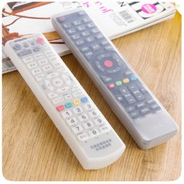 Sacs de rangement Télécommande TV Housse anti-poussière Accessoires de ménage Accessoires à partir de silicone couvre pour les télécommandes fabricateur
