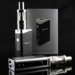 100% Original kvapor M7 Jomo electronic cigarettes 80w box mod kit with 18650 built-in battery vs kangertech subox mini kit
