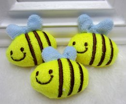 Wholesale bulk Cartoon Bee applique sewing on Patch diy craft kid apparel