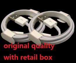 Cable micro del USB Cable original de la original de la calidad OEM 1M 3Ft 2M 6FT Cable de datos Cable de carga con la caja al por menor para el teléfono Samsung S6 S7 Borde Nota 4 5 E75 desde cargos cables iphone fabricantes