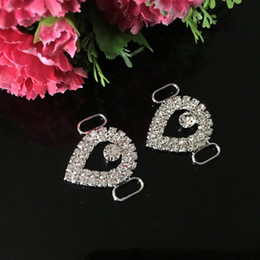 20pcs Clear Crystal Rhinestone Bikini Connectors Chain Small Buckle For Swimming Wear Competion Suits Bikini Decoration