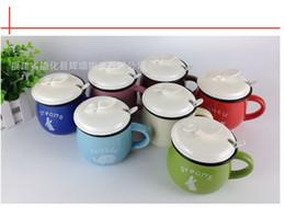 big milk cup vintage ceramic coffee cup mug breakfast