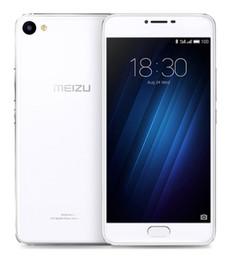 Promotion caméra verre usb Original Meizu U10 Téléphone cellulaire 4G LTE MTK 6750 Octa Core 2.5D Verre 5.0