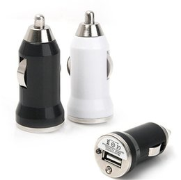 2 Port Colorful Universal Bullet Mini USB Car Charger Adapter cigarette lighter For Iphone5 6Plus Samsung All Mobile Phone