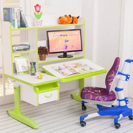 Wholesale 2017 new furniture new arrivals multi function Children learn table adjustable safe non toxic harmless desk children furniture tall