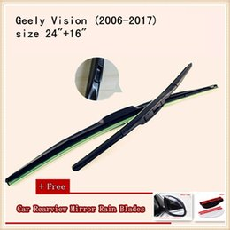 High Quality U-type Universal Car Windshield Wiper With Soft Natural Rubber For Geely Vision SUV-GX7 Geely MK2 Geely EC7-RV Geely EC7 MK1