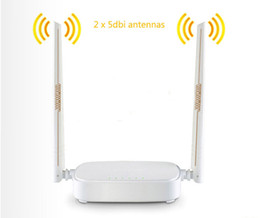 Tenda N301 Wireless Wifi Router,WIFI Repeater, 300Mbps,1WAN+3LAN Ports,Access Point Signal Booster,English Russian Firmware