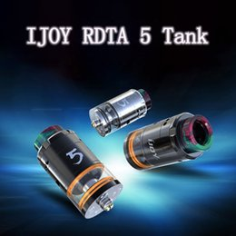 Newest Ijoy RDTA 5 Tank Clone 25mm Diameter 4ml Capacity with Dual Airflow Bottom and Side VS TFV12 MAXO V12 Avocado Atomizers High quality