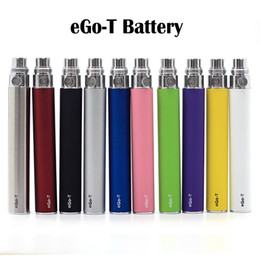 eGo-T Battery Ego t batteries Ego Batteries 510 Thread battery 650 900mAh 10 Colors Fit H2 MT3 CE4 CE5 Atomizer Clearomizer Vaporizer